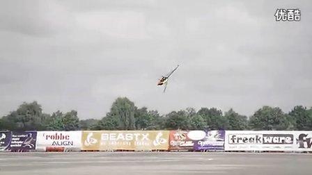 6通道遥控直升机450 3D飞行比赛视频
