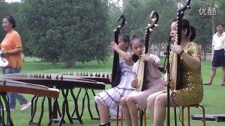 笑傲江湖 古筝 笛子 琵琶合奏