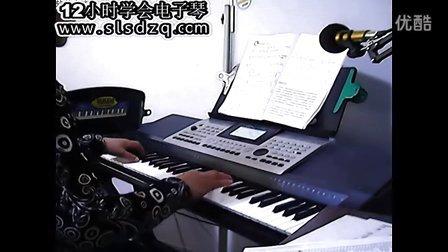 电子琴曲谱夜来香