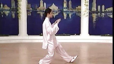简化太极拳24式全套演示
