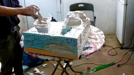 乐生工艺 沙盘模型制作教程 山形模型制作教程