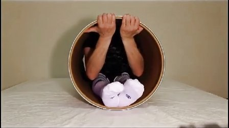 contortion in a tube