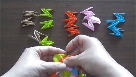 折纸花详细步骤图解