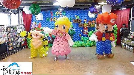 长条气球编糖老鸭图片