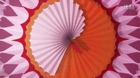 折纸团花步骤图解