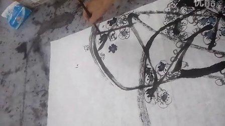 梅花的写意画法 - 专辑