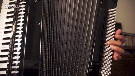 手风琴-左手音阶指法视频图片