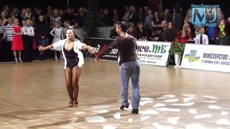 拉丁舞学堂 六期 拉丁舞教学 基本步(转动) 伦巴
