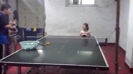 童乒乓球学习技术方法攻火罐正手的启蒙步奏怎么拔动作操作阶段图片