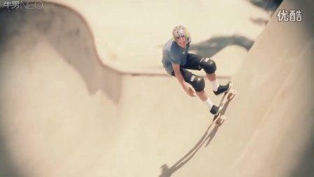 职业滑手Alex Sorgente备战2013慕尼黑X Games【牛男运动】