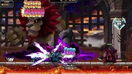 冒险岛 恶魔复仇者vs班雷昂