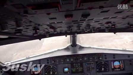 a320降落郑州新郑机场