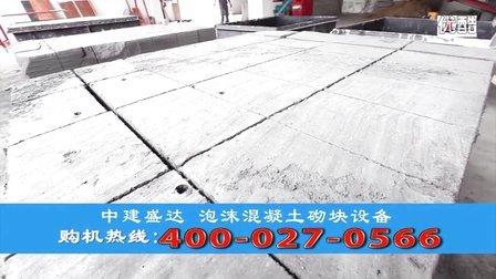泡沫混凝土砌塊設備需要多少錢?中建盛達泡沫磚機全套設備怎么賣