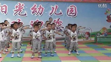 房村镇阳光幼儿园中班舞蹈