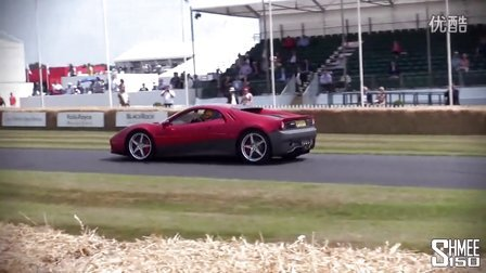 Ferrari SP12 EC - Eric Clapton~s £3m Car at Goodwood