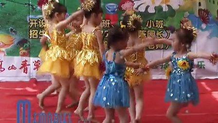 坪石中星幼儿园幼儿舞蹈:武术表演 千字文武术