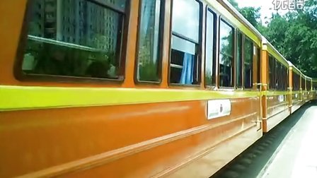 cad小火车平面图素材