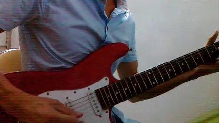 beyond《海阔天空》电吉他solo