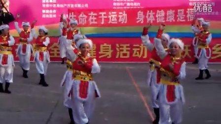 四新岗广场舞:雕花的马鞍