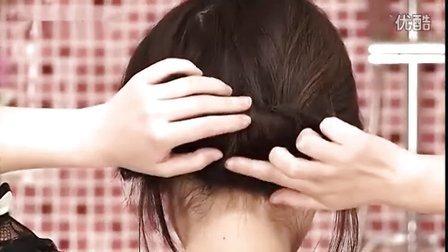 视频编发扎泡面完整教程盘发日常时尚发型【6世界杯头发头是谁图片