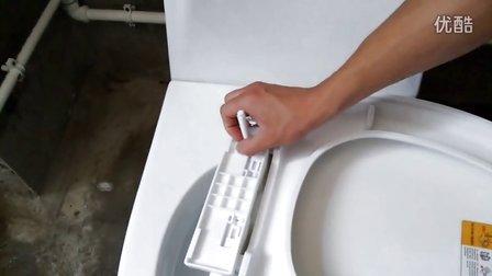 家庭塑料马桶盖板的测量方法及安装视频马桶