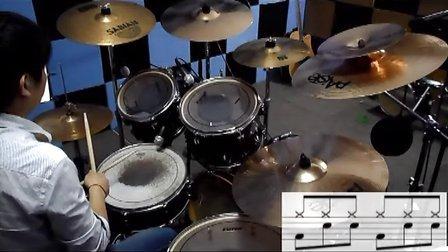 架子鼓是怎样炼成的 第八课 43基本节奏 中国非著名鼓手程老师