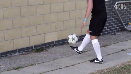 178【足球教学】教你提高首次触球技巧