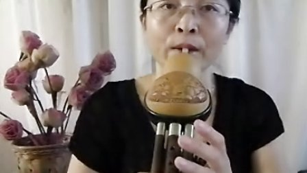 红梅葫芦丝入门  月光下的凤尾竹讲解