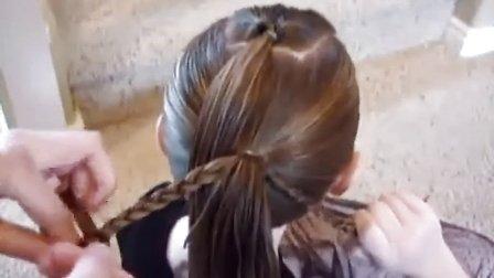 宝贝蝶变计划:儿童发型扎法视频 绑发教程