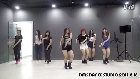 【DMS爵士舞】DMS舞蹈工作室8月韩国mv课堂Exid--每