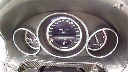 梅赛德斯Mercedes A45 AMG vs E63 S AMG 0-100加速对比