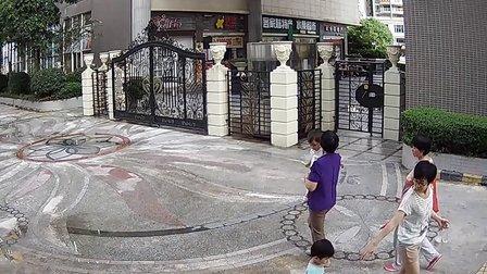 【世友】720p 百万高清监控摄像机录像智能小区-进出大门口