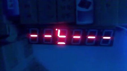 8255数码管显示数字仿真电路图