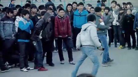阳泉市第十七中学2016元旦晚会机械舞剪辑版视频
