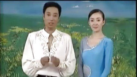 杨艺教你跳探戈17世纪舞步  孔雀开屏  V字造型  反弹三连步