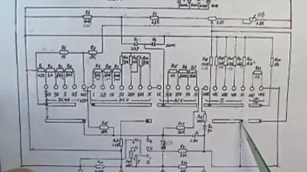 郑州方圆手机学校 指针式万用表结构原理使用及故障