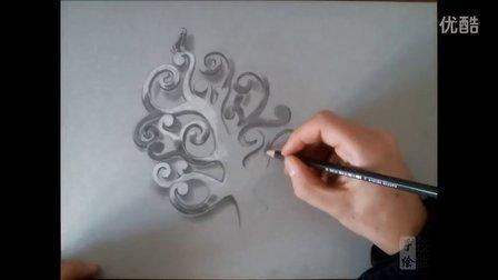 珠宝首饰手绘视频