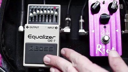 boss ge7 电吉他 均衡 eq 单块 效果器 视听
