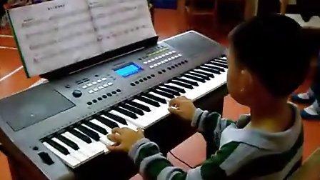 电子琴演奏