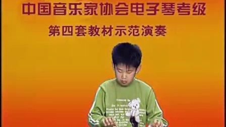 拔萝卜简谱电子琴视频
