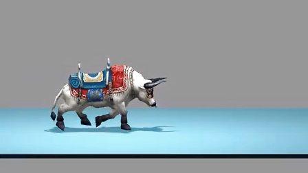 牛简单剪纸步骤图解