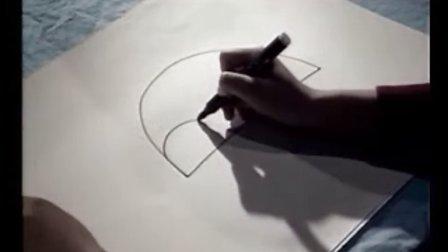 儿童学画画刺猬