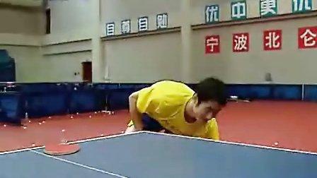 乒乓球发球技术