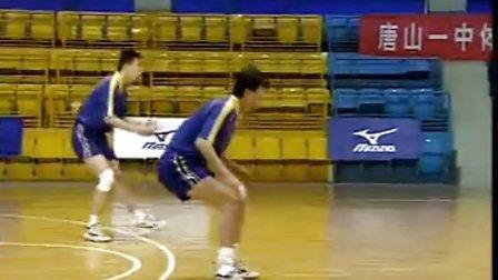 排球视频教学:18(接发球技术、扣球技术)