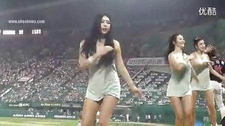 韩国性感背心超短裤-啦啦队热舞,美女啦啦队舞