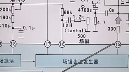 crt电脑显示器同步信号产生电路