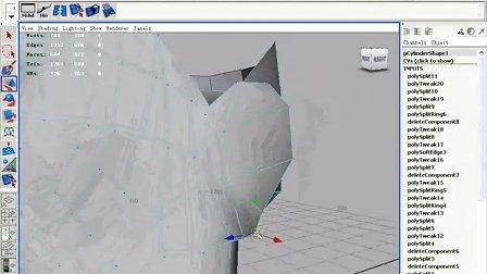 G262_MAYA 2008法線貼圖角色制作應用范例013