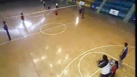 排球视频教学:20(鱼跃技术、接发球、扣球)
