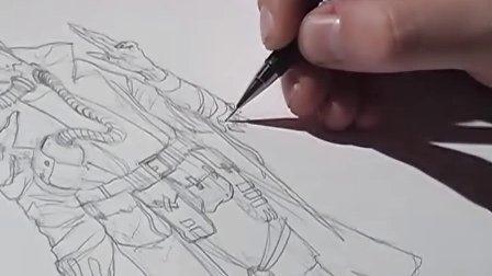 手绘漫画教程2