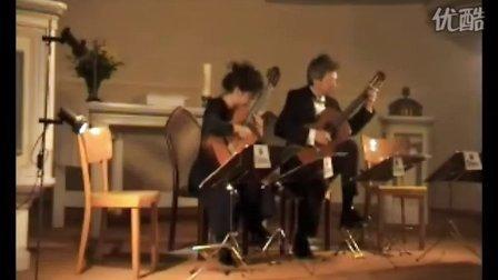阿玛杜斯吉他二重奏弹巴赫恰空 - 古典吉他